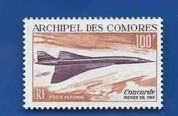 Timbre Concorde  Archipel Des Comores N° 29 Neufs - Concorde