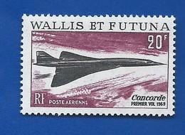 Timbre Concorde   Wallis Et Futuna   N° 32 Neufs - Concorde