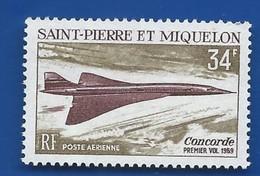 Timbre Concorde   Saint Pierre Et Miquelon    N° 43 Neufs - Concorde