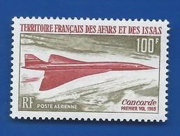 Timbre Concorde   Territoire Français Des Afars Et Des Issas    N° 60 Neufs - Concorde