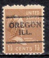 USA Precancel Vorausentwertung Preo, Locals Illinois, Oregon 701 - Vereinigte Staaten