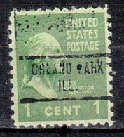 USA Precancel Vorausentwertung Preo, Locals Illinois, Orland Park 734 - Vereinigte Staaten