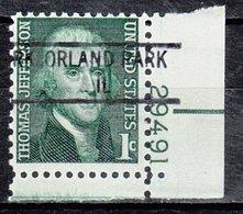 USA Precancel Vorausentwertung Preo, Locals Illinois, Orland Park 841 Plate# - Vereinigte Staaten
