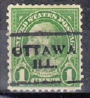 USA Precancel Vorausentwertung Preo, Locals Illinois, Ottawa 632-701 - Vereinigte Staaten