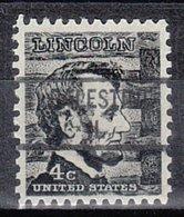 USA Precancel Vorausentwertung Preo, Locals Illinois, Palestine 841 - Vereinigte Staaten