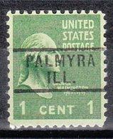 USA Precancel Vorausentwertung Preo, Locals Illinois, Palmyra 729 - Vereinigte Staaten