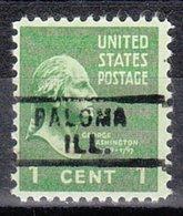 USA Precancel Vorausentwertung Preo, Locals Illinois, Paloma 729 - Vereinigte Staaten