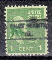USA Precancel Vorausentwertung Preo, Locals Illinois, Palos Heights 734 - Vereinigte Staaten