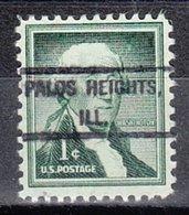 USA Precancel Vorausentwertung Preo, Locals Illinois, Palos Heights 807 - Vereinigte Staaten