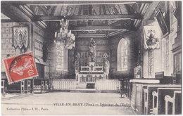 60. VILLE-EN-BRAY. Intérieur De L'Eglise - France