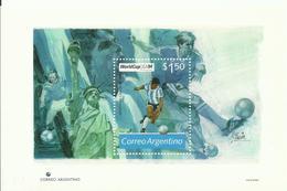ARGENTINA YVERT H/B 59   MNH  ** - World Cup