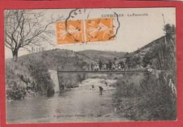 CPA:Corbières (04) La Passerelle - Francia