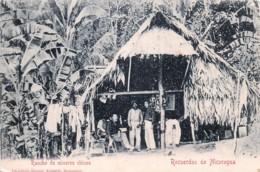 Recuerdos De Nicaragua - Rancho De Mineros Chinos - Ranch Des Mineurs Chinois - Nicaragua