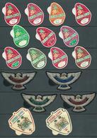 Sierra Leone 1967 - 1969 Decimal Currency Cola Nut & Eagle Freeform Self Adhesive Set 17 MNH - Sierra Leone (1961-...)