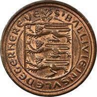 Monnaie, Guernsey, Elizabeth II, New Penny, 1971, Heaton, TB+, Bronze, KM:21 - Guernsey