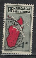 MADAGASCAR           N°  YVERT       PA 7     OBLITERE       ( O   3/49 ) - Madagascar (1889-1960)
