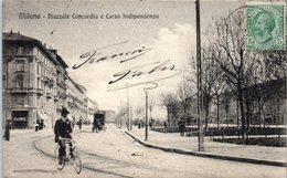 Italie - MILANO - Piazzale Concordia E Corso Indipenza - Milano