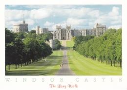 England Windsor The Long Walk Postcard Unused Good Condition - Windsor