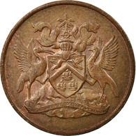 Monnaie, TRINIDAD & TOBAGO, Cent, 1971, Franklin Mint, TB+, Bronze, KM:1 - Trinidad & Tobago