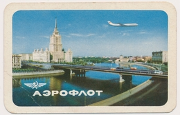 1964  AEROFLOT USSR AIRLINES Moscow Old Pocket Calendar - Calendars
