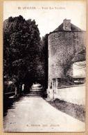 X89109 AVALLON Yonne Tour Des VAUDOIS 1910s Edition H.COURON N°12 - Avallon
