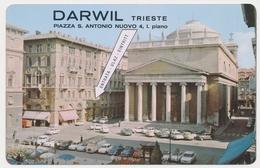 1971  DARWIL TRIESTE Old Pocket Calendar - Petit Format : 1971-80