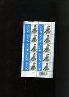 Belgie Buzin Vogels Birds Nr 3750 0.15€ CREME PAPIER Zwart Balkje Bovenaan RR MNH Plaatnummer 2 - 1985-.. Pájaros (Buzin)
