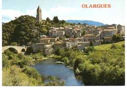 - CPM OLARGUES (34) - Vue Générale - Editions APA-POUX 329 - - Francia