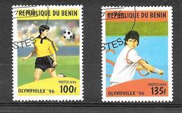 "Olympics And Sports Stamp Exhibition ""Olymphilex '96"" - Atlanta, USA 1996 - Bénin – Dahomey (1960-...)"