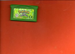 Jeu Game Boy Adance - Pokemon Version Vert Feuille - Nintendo Game Boy