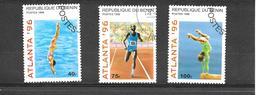 Olympic Games - Atlanta, USA 1996 - Bénin – Dahomey (1960-...)