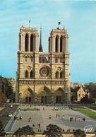 Cpm 75 Paris 1 Cathédrale Notre Dame Façade - Notre Dame De Paris