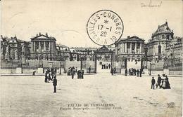 17-1-191919 - C P A De Versailles Avec Cad VERSAILLES-CONGRES  19  -  ( Deschanel  ) - Storia Postale