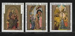 TCHAD  ( AFTC - 38 )   1970  N° YVERT ET TELLIER  POSTE AERIENNE  N° 75/77   N** - Ciad (1960-...)