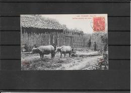 Indochine 1906 Postcard Haiphong To France ( Ref 2301 ) - Indocina (1889-1945)