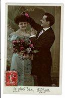CPA - Carte Postale-Belgique-Fantaisie-Couple:Le Plus Beau Diammant-1908-VM2506 - Coppie