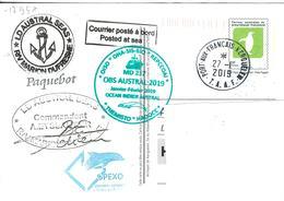 129567 Carte PAP - MARION DUFRESNE MD 217 - KERGUELEN - Terre Australi E Antartiche Francesi (TAAF)