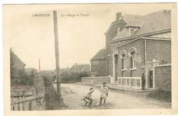 Liège Ambresin Le Village Et L`école. - Belgio