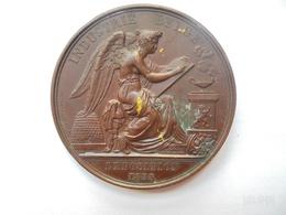 BELGIQUE-EXPOSITION 1835(UNE DES PREMIERES EXPO DU ROYAUME !) Par JOUVENEL 51 Grammes-50 Mm - Royaux / De Noblesse