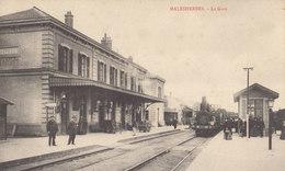 45 /  MALESHERBES   /  LA GARE   ///  REF   AVRIL. 19 /// BO.45 - Malesherbes