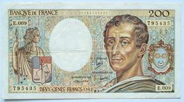 France - 200 Francs Montesquieu 1982 E.009 - 1962-1997 ''Francs''