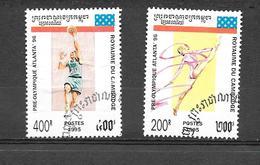 Olympic Games - Atlanta 1996, USA 1995 - Cambodge