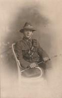 Militaria : Soldat à Définir - Canadien Ou Américian ????? Très Bel Pose - Carte Photo - - Regiments
