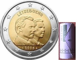 Luxembourg. 2 Euro. 25 Years To Prince Guillaume. UNC - Lussemburgo
