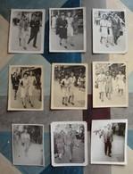 9 Photos Descente Canebière Marseille Années 1940 - Places