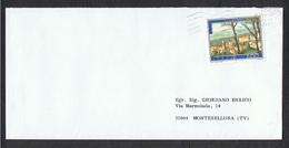 REPUBBLICA:  1987  LETTERA  MONOAFFRANCATA  CON  1804  -  I°  MESE  D' USO - 6. 1946-.. Repubblica