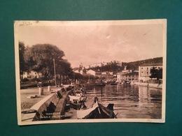 Cartolina Terracina - Canale Del Porto - 1935 - Latina