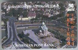 Georgia. Tbilisi. Pelicom. Geocell / Georgian Church - Georgia