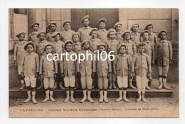 - CPA CAVAILLON (84) - Groupe Scolaire Gymnique (Première Section) - Concours De Nice 1913 - - Cavaillon