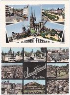 63. Gf. CLERMONT-FERRAND. Multivues. 2 Cartes - Clermont Ferrand